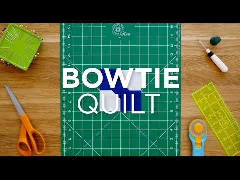 Make An Easy Bowtie Quilt Block