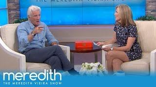 Which Scene Did Richard Gere Not Want To Film?! | The Meredith Vieira Show