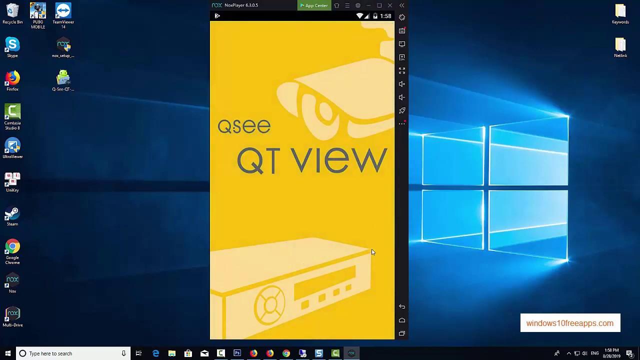 Q see qt view