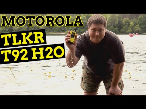 Motorola TLKR T92 H2O: всегда на связи