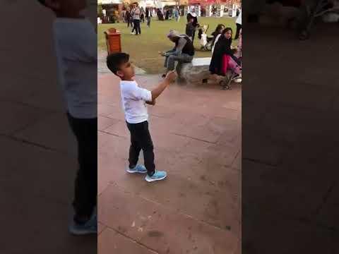 Kid Defeating TURKISH ICE CREAM MAN at Global Village Dubai