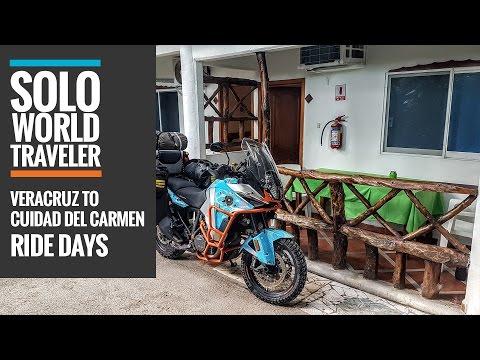 Ride Day 22: Veracruz to Ciudad del Carmen, Mexico