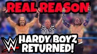 REAL REASON The HARDY BOYZ Returned on WWE SD LIVE 2/26/19