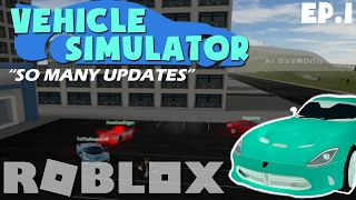 """[ROBLOX Lets Play/Collab!] Vehicle Simulator w/Biggranny000 """"SO MANY UPDATES"""" Ep.1"""