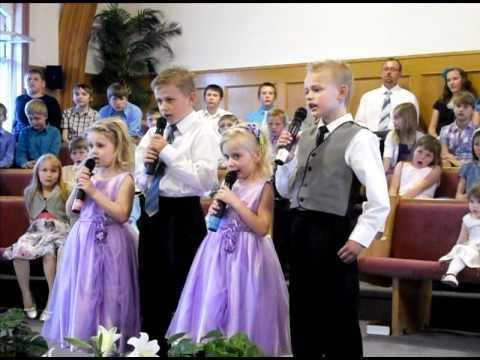 Still - Cover Me - Russian Kids Easter Song. Sunday School Program 2011