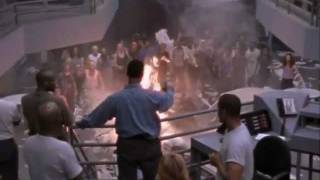 OZ tv series the start of the riot (S01 E 08 A game of checkers)
