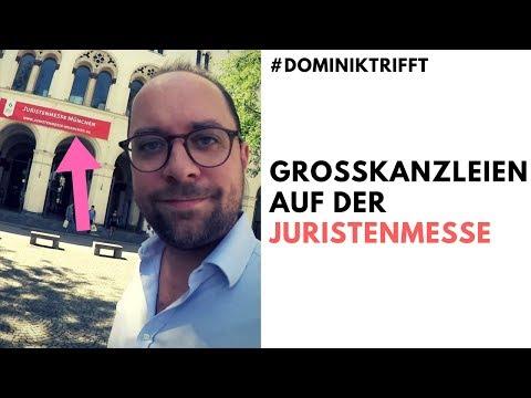 Auf der Jobmesse für Juristen 👨🏻🎓   Großkanzleien im Interview   #Dominiktrifft