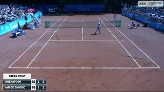 Tallon Griekspoor vs Botic van de Zandschulp | Challenger Amersfoort 2021 Final