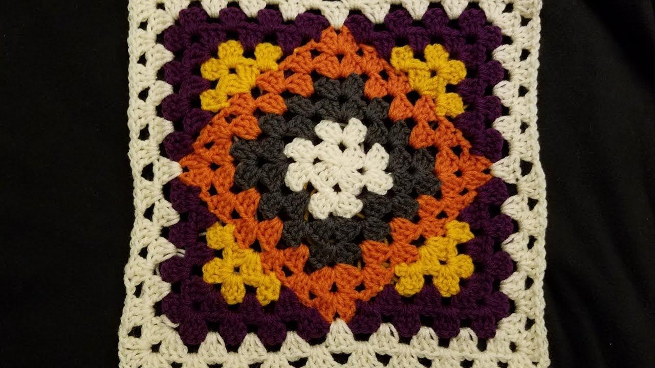 Kaleidoscope Granny Blanket Crochet Along Pt 1 Youtube