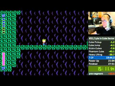Lyle in Cube Sector Any% 25:44.71