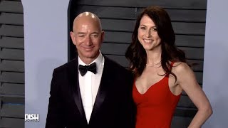 AMAZON'S JEFF BEZOS AND HIS WIFE ANNOUNCE THEIR DIVORCE