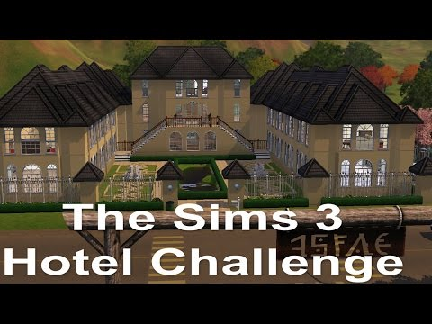 Lets Play Sims 3 Hotel Challenge part 1 | Welcome to the Bran Hotel