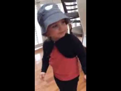 Diaper Money (cover) The Lonely Island - by 2 year old