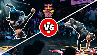 Red Bull BC One Last Chance Cypher 2018 | Semifinal: Bart (BRA) vs.The Wolfer (AUT)