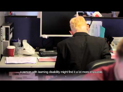 Adults With Learning Disabilities at work