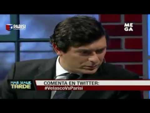 Debate completo Franco Parisi v/s Andrés Velasco -Mas Vale Tarde- Mega