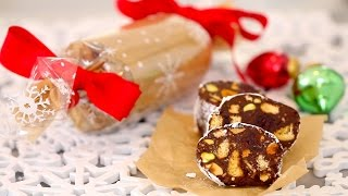 Chocolate Biscuit Cake/chocolate Salami (no-bake): Edible Gifts - Gemma's Bigger Bolder Baking