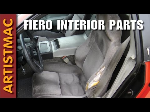 Interior Parts For Your Pontiac Fiero