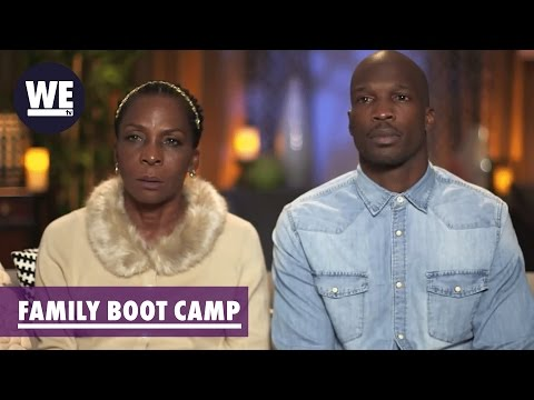 "Chad ""Ochocinco"" & Mom Paula Johnson Bio 