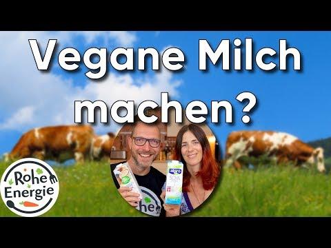 Warum machen wir vegane Milch nicht selbst?   Vegan Q&A