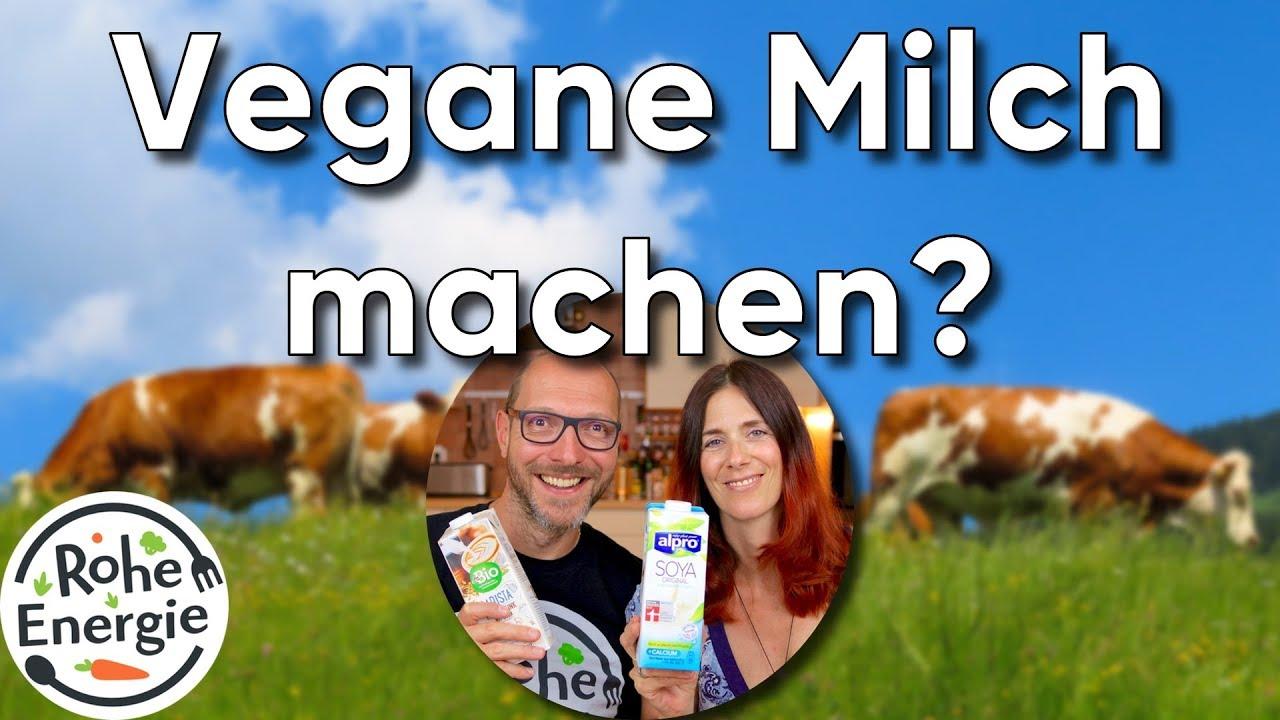 Warum machen wir vegane Milch nicht selbst? | Vegan Q&A