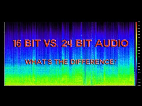 16 Bit Vs. 24 Bit Audio