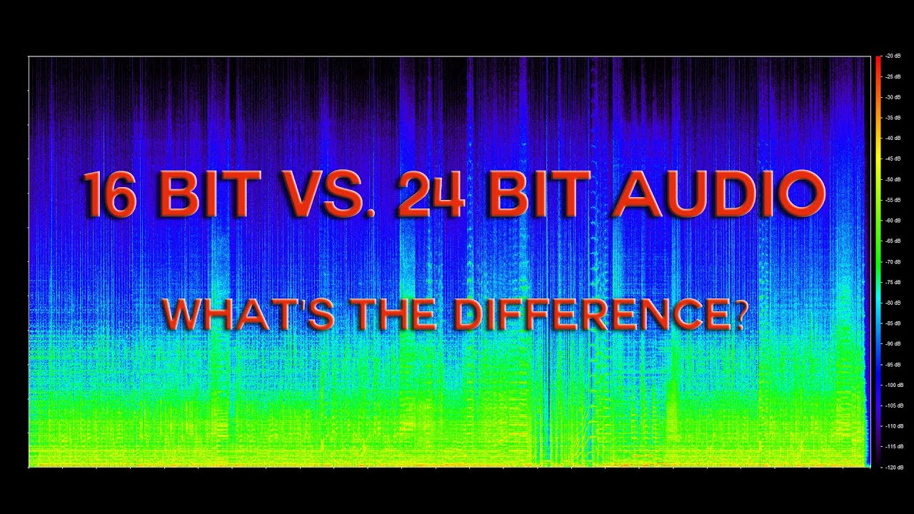 16 Bit vs  24 Bit Audio