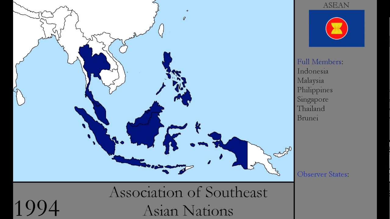 nations asian History of