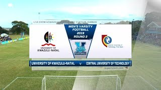 Varsity Football | UKZN v CUT | Highlights