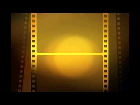 Футаж киноленты для видеомонтажа начала фильма