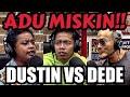 BANGKE MALAH ADU MISKIN‼️🤣 babi bgt!! DUSTIN TIFFANI VS DEDE SUNANDAR -Deddy Corbuzier Podcast