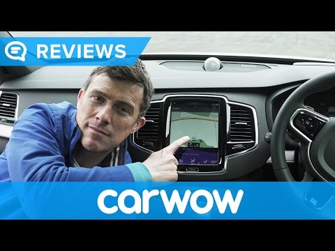 Volvo XC90 2018 SUV infotainment and interior review | Mat Watson Reviews