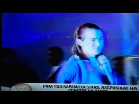 Nenly ocenar tv patrol tacloban TOMIHO concert sa Basey Sam