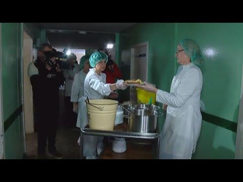 Pamatykite, ką Kauno ligoninės pacientai valgo už 1 eurą 45 centus per dieną