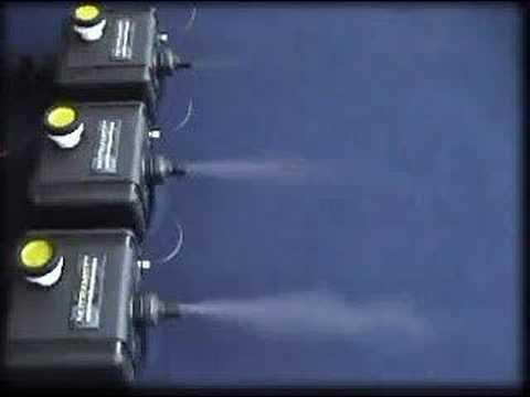 Nutramist Ultrasonic Foggers - YouTube