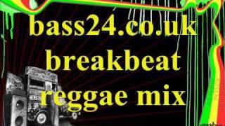 bass24.co.uk breakbeat reggae mix 2001