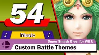 custom battle themes super smash bros for wii u vol 54