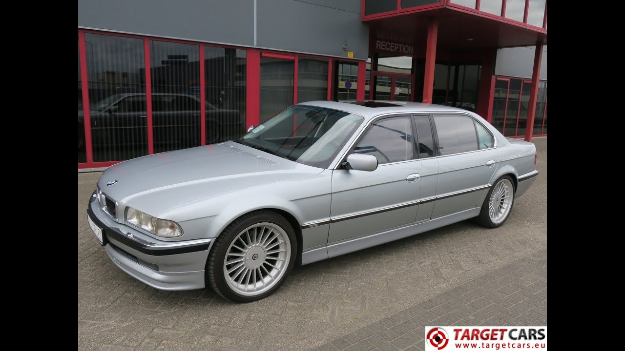 750213 Bmw 750ixl L7 Extra Long E38 Limousine 5 4l V12