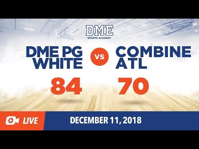 DME PG White vs Combine ATL