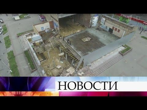 ВБалашихе при обрушении стены старого кинотеатра пострадал ребенок.