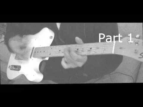 BOBBY FULLER FOUR I FOUGHT THE LAW GUITAR COVER