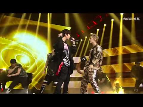 [720p] 130623 Henry - Trap ft. Super Junior's Kyuhyun @ SBS Inkigayo