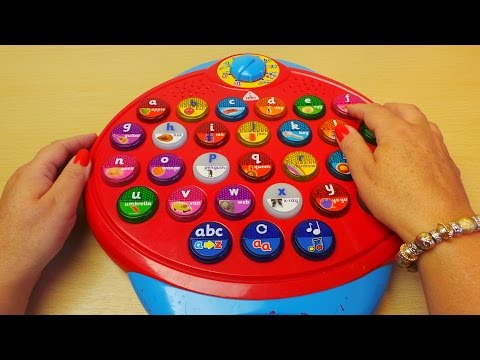 ELC Preschool Toy Review To Help Learn English Phonics and Letters