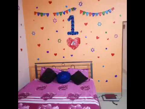 St marriage anniversary room decorations youtube