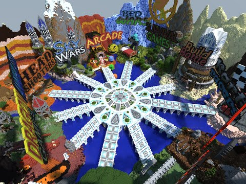 Minecraft - Server Hub with 12 Areas - - vimore org