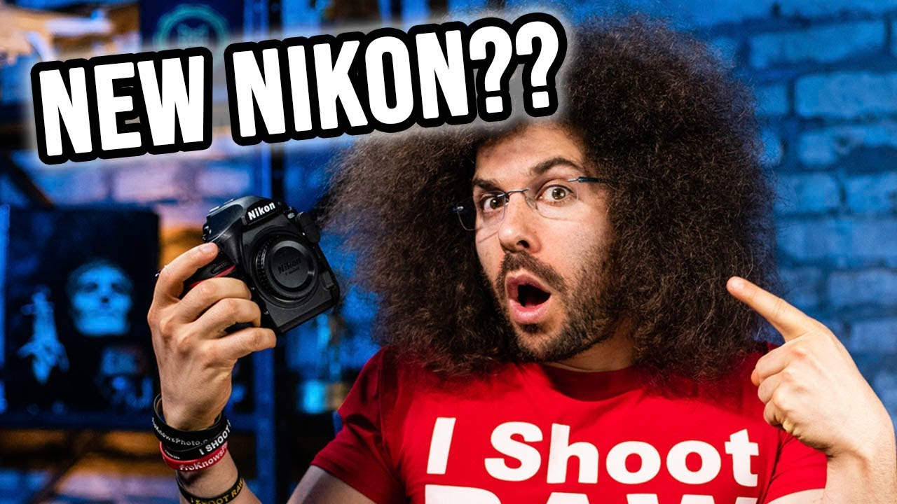 NIKON TEASES NEW MIRRORLESS CAMERA (Reaction + Thoughts) | Fro Knows