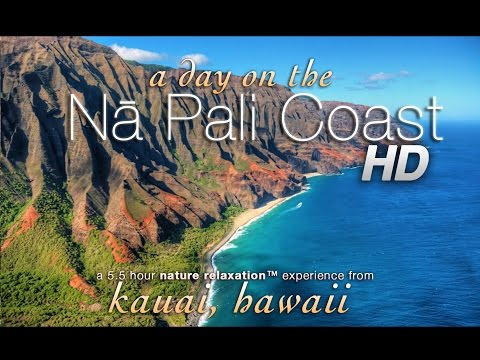 6HR REAL TIME HAWAII NATURE: Kauai's Nā Pali Coast: Kalalau