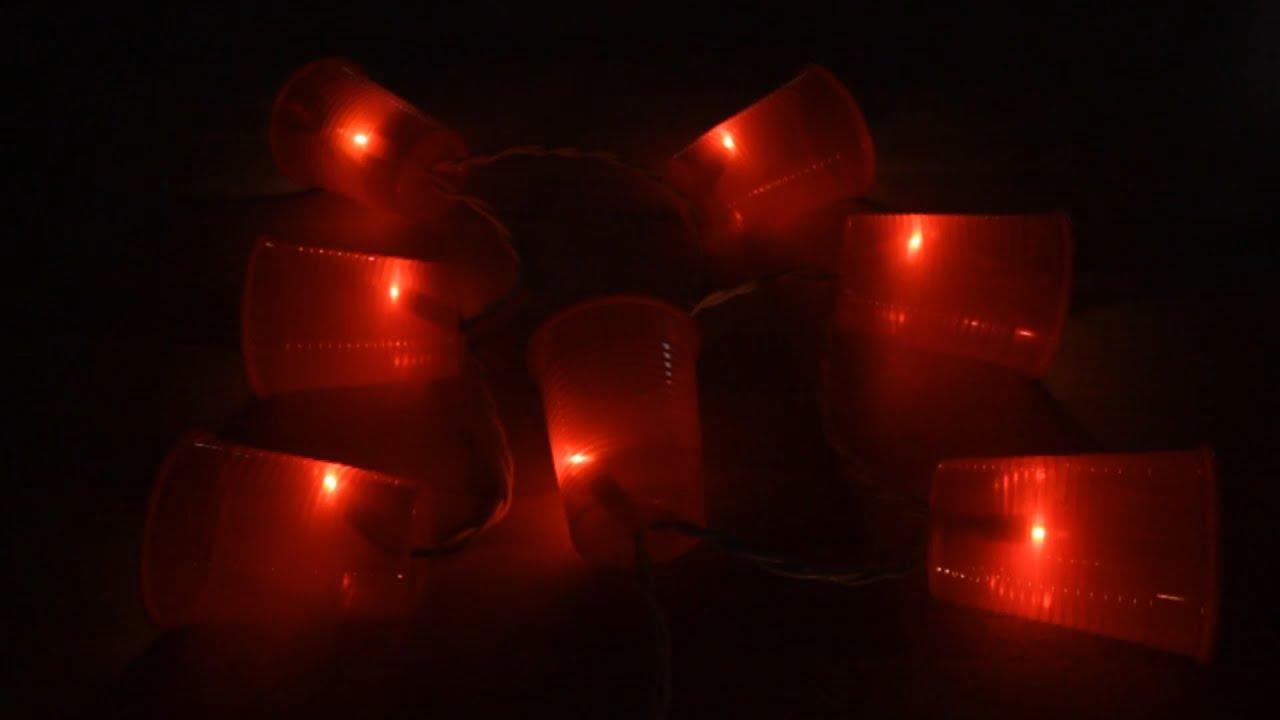 C mo hacer farolillos con luces youtube for Luces para estanques de jardin
