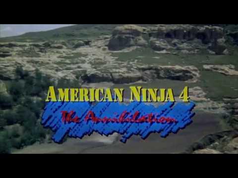 Ninja Americană 4. Anihilarea (1990) - narat în limba română, Sunet de pe VHS