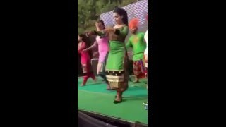 Sexy Girl dancing on stage